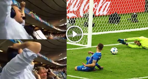 Vidéo: quand un commentateur islandais devient tout simplement fou...
