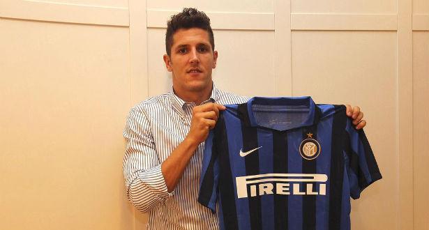 Jovetic s'engage à l'Inter Milan