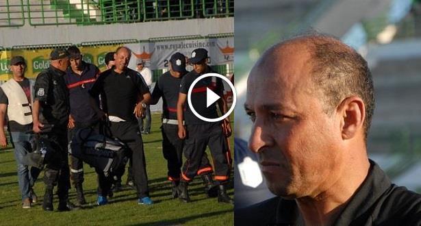 فيديو.. مدرب سابق في البطولة يتعرض للاعتداء من طرف لاعبيه بتونس
