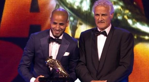 """الأحمدي يحصد جائزة """"الحذاء الذهبي"""" كأفضل لاعب في """"الإيريدفيزي"""""""