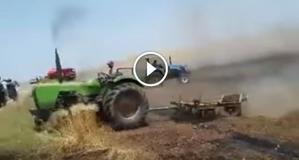فيديو .. حريق يلتهم عشرات الهكتارات بإقليم الخميسات