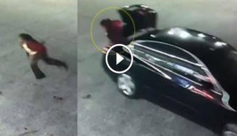 فيديو.. كاميرا مراقبة توثق لحظة هروب فتاة مختطفة من صندوق سيارة