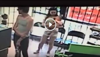 Vidéo: Il tente de kidnapper une fille de quatre ans sous les yeux de sa mère
