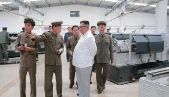 """كيم يغضب بشدة ويوبخ مسؤولين بسبب """"مشروع معرقل"""""""