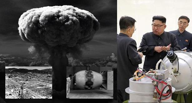 خبراء أمريكيون : التجربة النووية الكورية الشمالية أقوى ب 16 مرة من قنبلة هيروشيما