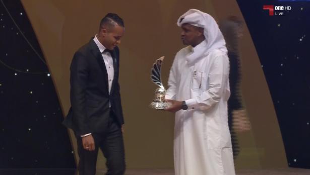 Le marocain youssef Larabi, sacré ''Buteur du tournoi des stars'' au Qatar