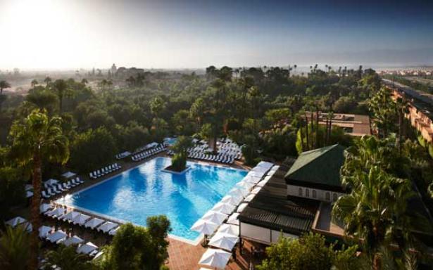 """La Mamounia désigné """"Meilleur Hôtel au Monde"""" par un magazine britannique"""