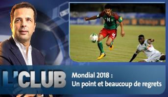 L'CLUB : Mondial 2018 : Un point et beaucoup de regrets