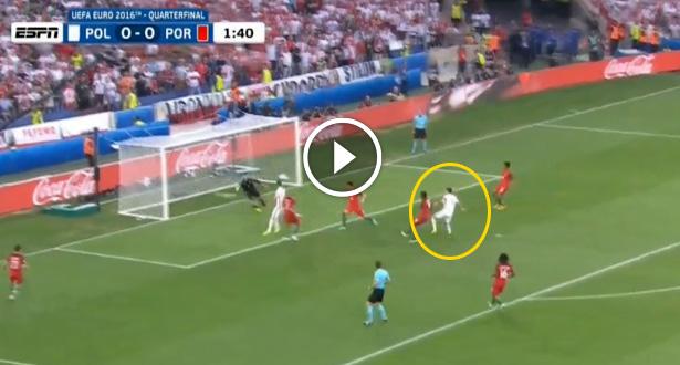 فيديو .. ليفاندوفسكي يباغت البرتغال بهدف مبكر