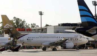 إغلاق مطار العاصمة الليبية بسبب اشتباكات بين مسلحين