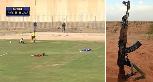 إطلاق نار يوقف مباراة نهائي كأس ليبيا