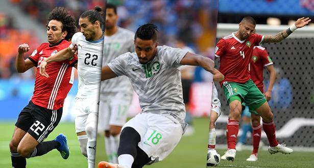 ثلاثة منتخبات عربية تودع المونديال دفعة واحدة