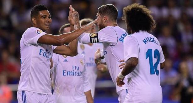 """ريال مدريد يستهل حملة الدفاع عن لقبه في """"الليغا"""" بفوز كبير"""