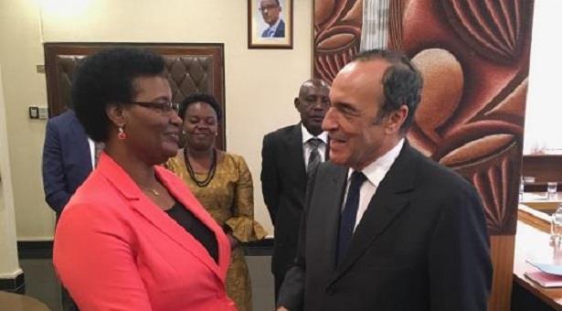 El Malki représente le Roi à la cérémonie d'investiture du président rwandais, Paul Kagame