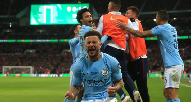 """""""السيتي"""" يحرز كأس الرابطة الإنجليزية على حساب أرسنال"""