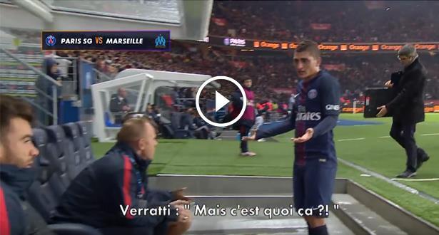 Paris SG: Colère de Verrati, sale ambiance autour d'Emery
