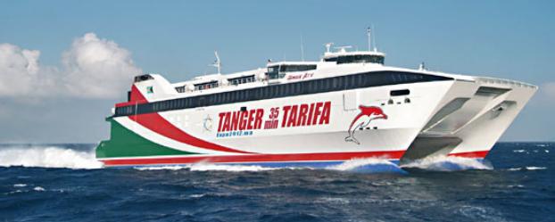 استئناف حركة الملاحة البحرية من ميناء طنجة المدينة نحو ميناء طريفة