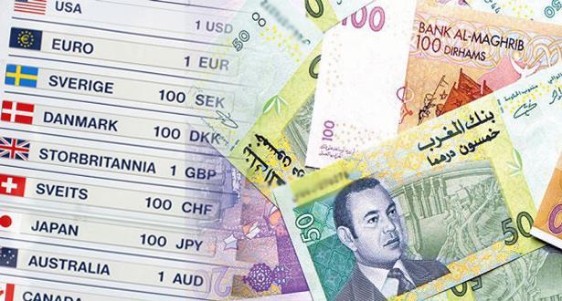 أسعار صرف العملات الأجنبية مقابل الدرهم ليوم الاثنين 16 أبريل