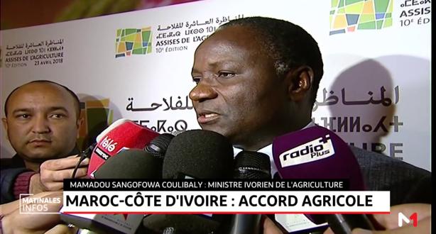 Maroc - Côte d'ivoire: accord agricole