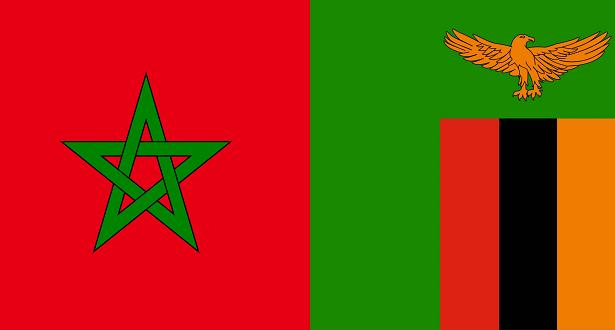 المغرب وزامبيا بث مباشر