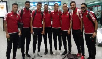المنتخب المغربي للاعبين المحليين يواجه نظيره المصري برسم الدور المؤهل لنهائيات كأس إفريقيا
