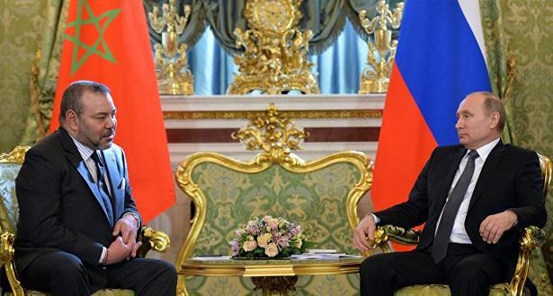 برقية تعزية ومواساة من الملك محمد السادس إلى رئيس جمهورية روسيا الاتحادية