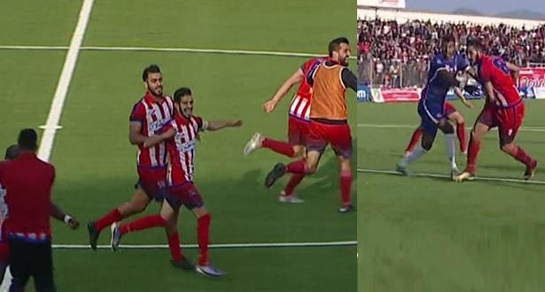 """""""المغرب التطواني"""" يقلب تأخره ويتنفس الصعداء بثاني فوز في البطولة الاحترافية"""