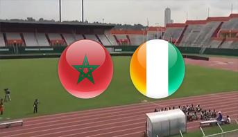 فيديو يكشف حالة أرضية الملعب الذي سيحتضن مباراة الكوت ديفوار والمغرب