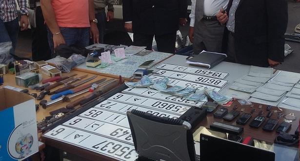 الدار البيضاء.. حجز بندقية صيد وكميات من المخدرات ولوحات ترقيم للسيارات