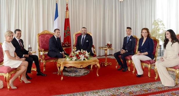 بالصور .. زيارة الصداقة والعمل للرئيس الفرنسي إيمانويل ماكرون إلى المغرب