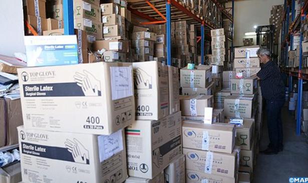 تسليم 5 سيارات إسعاف جديدة و20 طن من الأدوية لفائدة المراكز الصحية بالحسيمة
