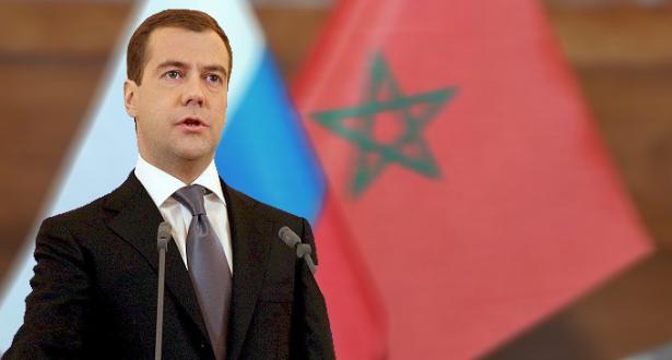 ميدفيديف : روسيا في حاجة إلى المغرب بالنظر لدوره الإستراتيجي الهام بالمنطقة