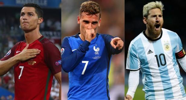 Fifa 2016: les finalistes pour le titre du meilleur joueur dévoilés