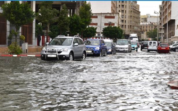 تسجيل تساقطات مطرية مهمة بعدد من مدن المغرب