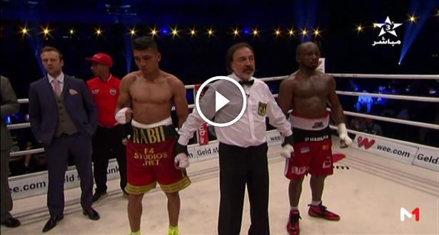Victoire du Marocain Rabii face au Belge Habimana