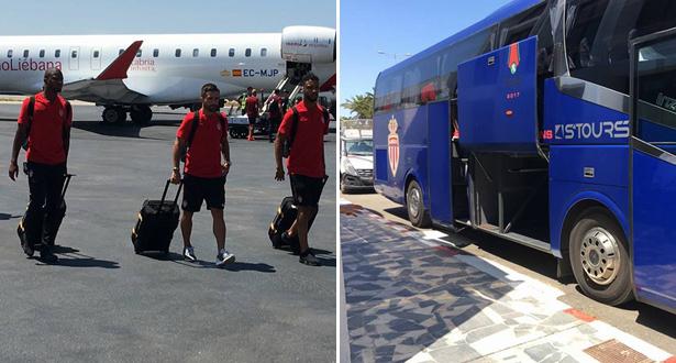 وصول بعثة فريق موناكو إلى طنجة