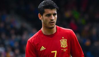 تعليق موراتا بعد استبعاده من لائحة إسبانيا للمونديال