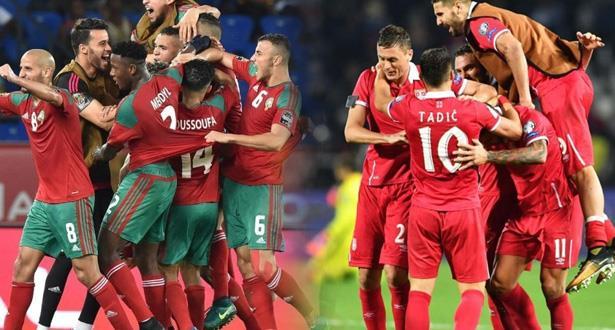 صربيا بكامل نجومها تواجه المغرب .. لائحة لاعبي المنتخب الصربي