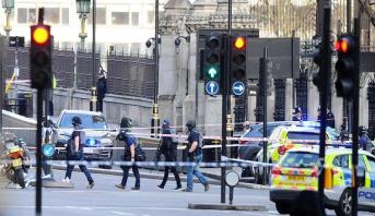 أربعة قتلى بينهم شرطي ومهاجم في اعتداء لندن
