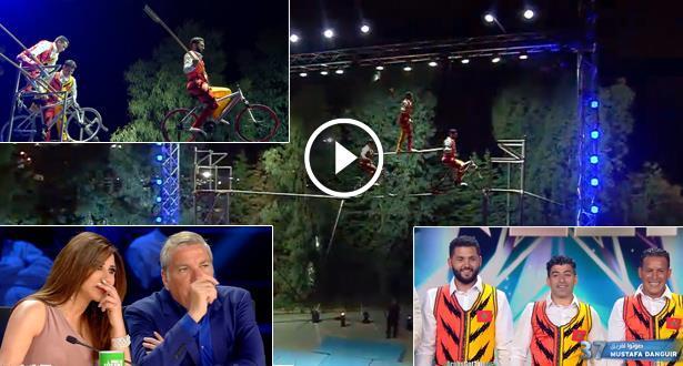 فيديو .. فريق Mostafa Danguir المغربي يبهر حكام Arabs Got Talent من خارج المسرح