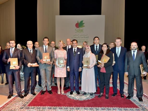 الأمير مولاي رشيد يترأس حفل توزيع جوائز أفضل وحدات الإنتاج الفلاحي وأفضل العارضين