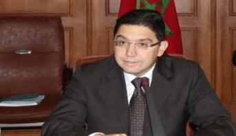 الرئيس الإيفواري يستقبل ناصر بوريطة بأبيدجان