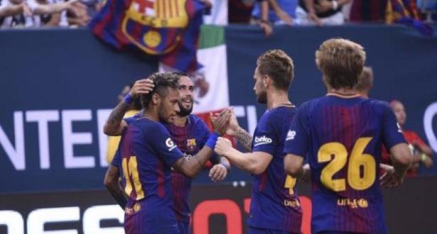برشلونة يفوز على يوفنتوس في ليلة تألق نيمار بكأس الأبطال