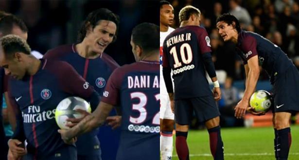 """PSG: Cavani assure n'avoir """"aucun problème"""" avec Neymar"""