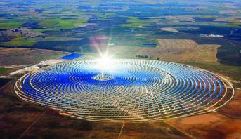 Une délégation de journalistes nationaux et internationaux en visite à la Centrale solaire Noor
