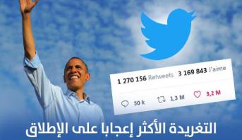 """تغريدة لأوباما ضد العنصرية تصبح الأكثر إعجابا في تاريخ """"تويتر"""""""