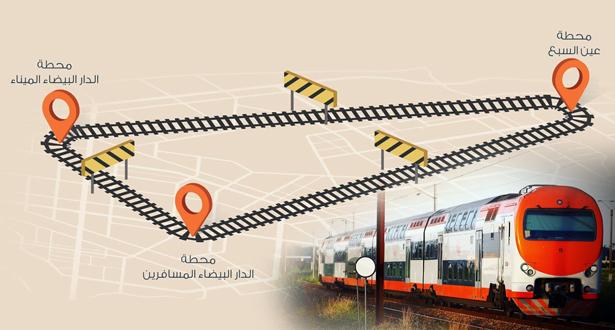 إغلاق محطة الدار البيضاء -الميناء مؤقتا بسبب أشغال استثنائية