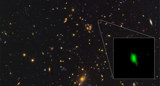 أثر وجود الأوكسجين بمجرة بعيدة يسلط الضوء على المرحلة الأولى من عمر الكون