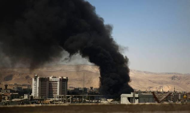 التلفزيون الرسمي السوري: تنظيم داعش قتل 400 شخص في تدمر