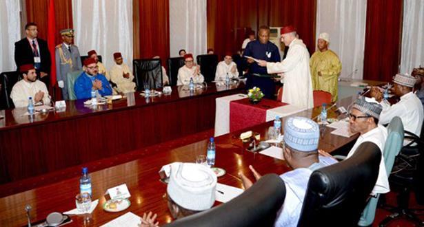التوقيع على العديد من اتفاقيات التعاون الثنائي بين المغرب ونيجيريا